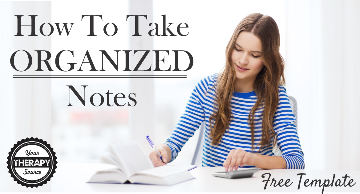 Students Take Organized Notes