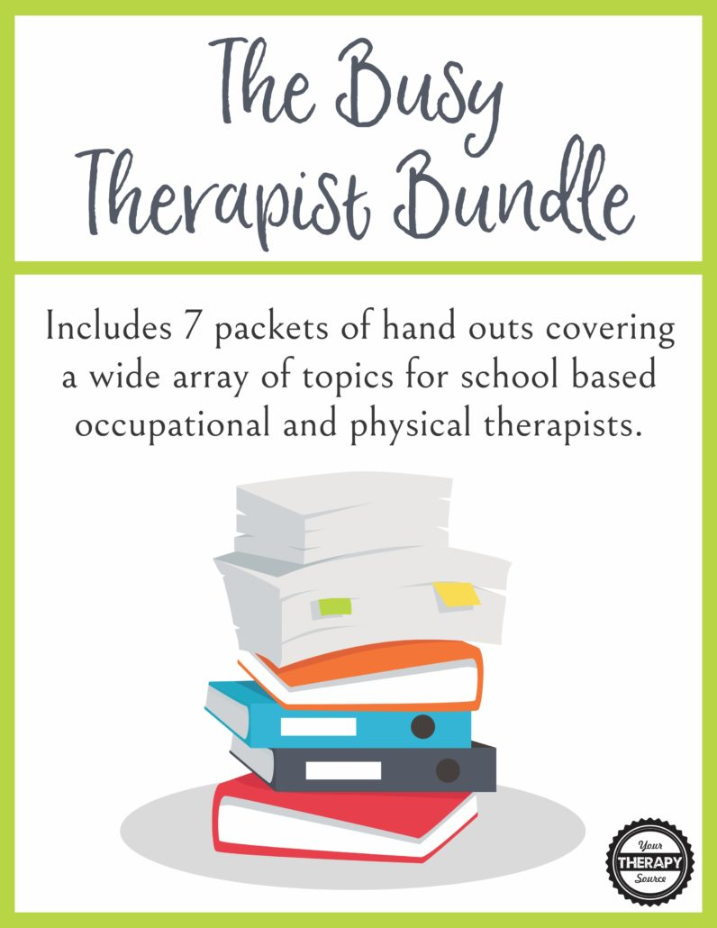 The Busy Therapist Bundle