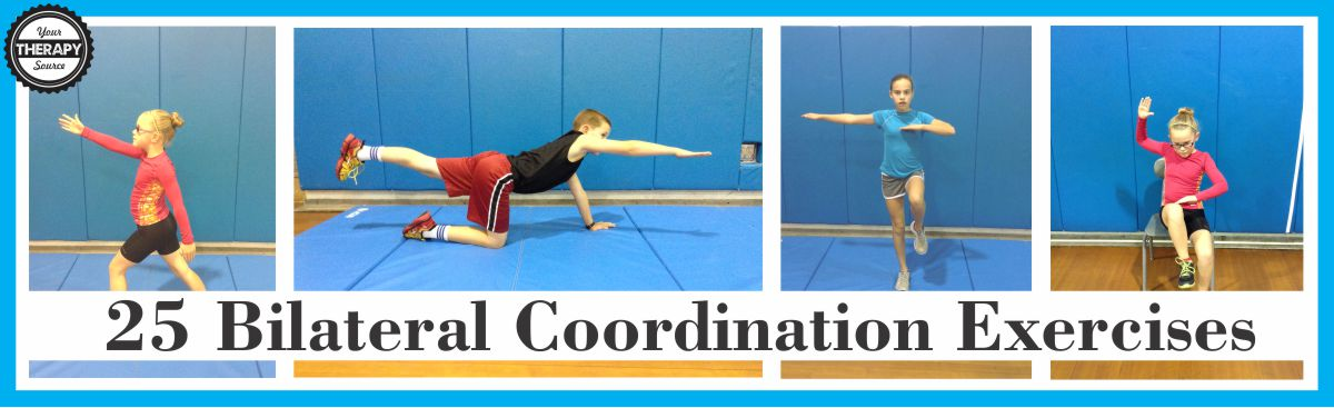 25 Bilateral Coordination Exercises