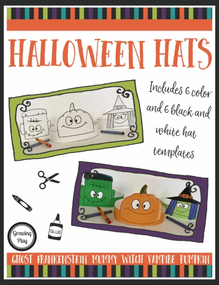 Halloween Hats from Your Therapy Source