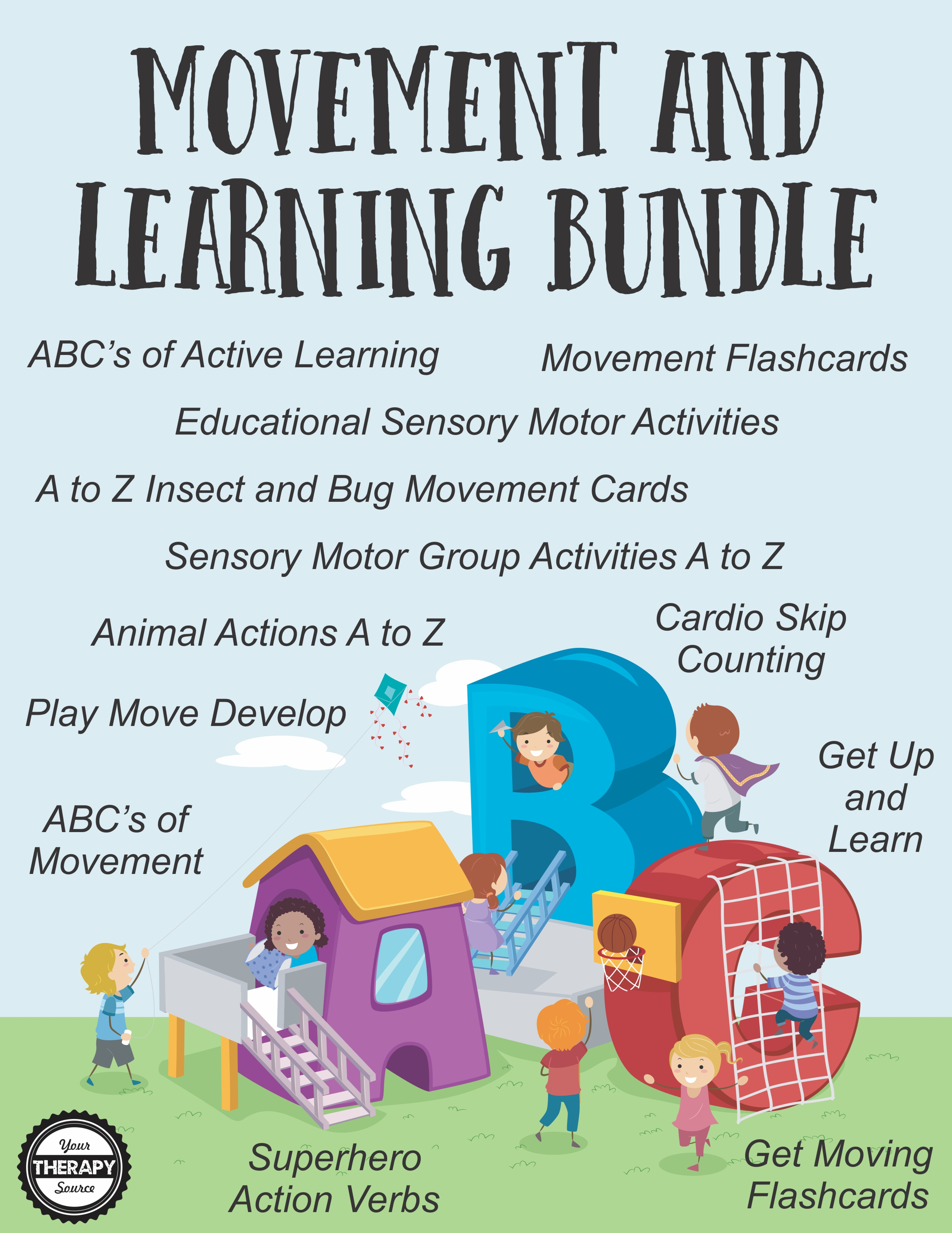Movement and Learning Bundle from Your Therapy Source