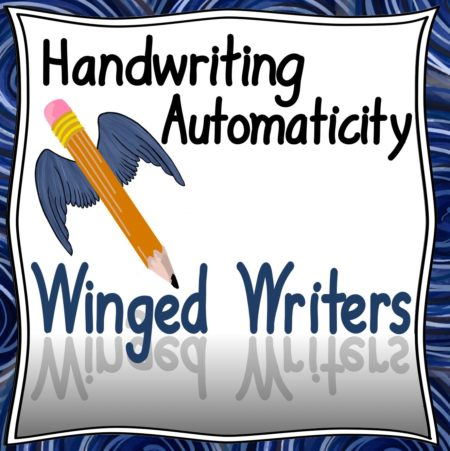 Handwriting Automaticity Winged Writers