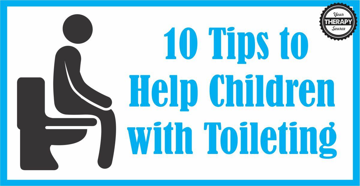 Help Children with Toileting
