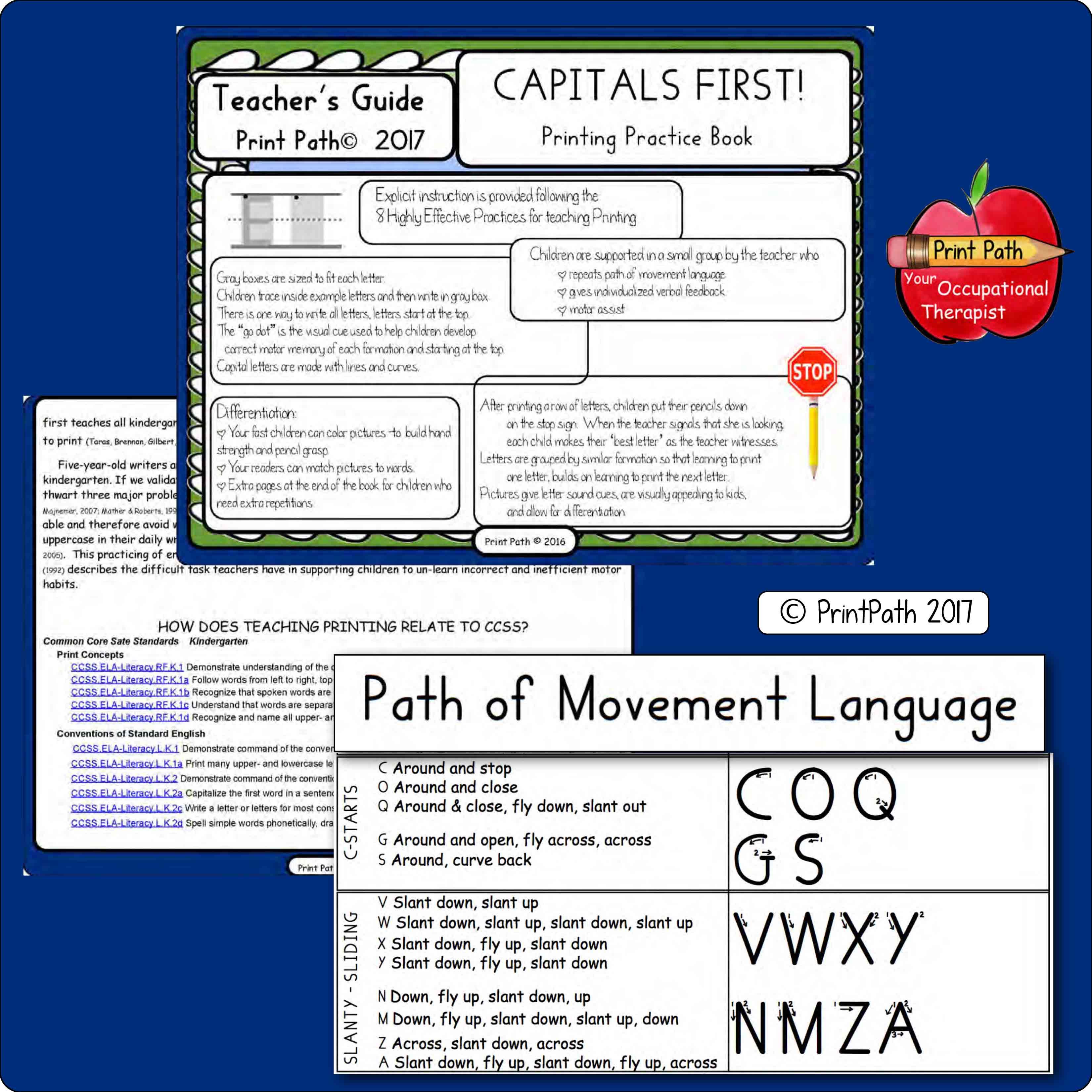 CAPITALS FIRST Explicit Instruction
