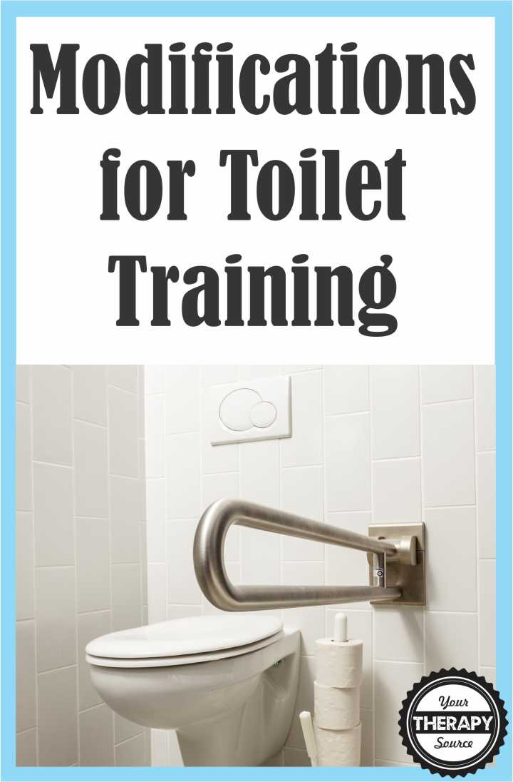 Modifications for Toilet Training