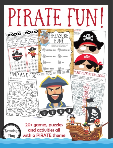Pirate Games Activities