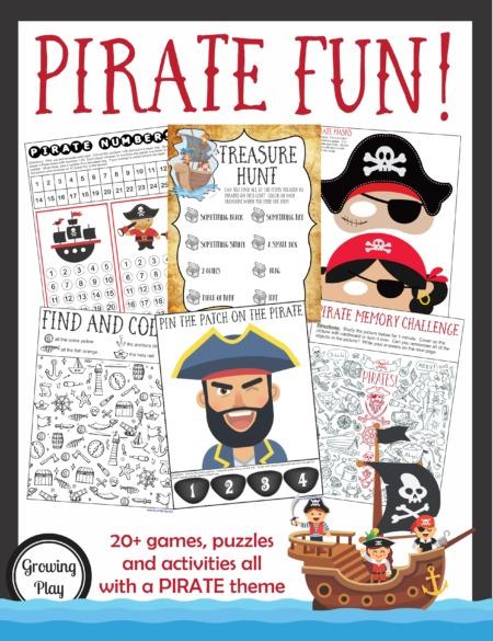 Pirate Games Activities