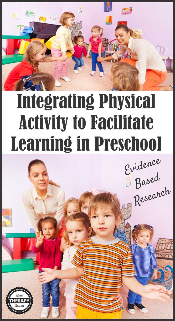 Integrating Physical Activity to Facilitate Learning - Evidence-Based Research