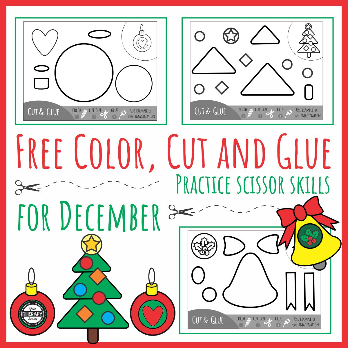 Color Cut Glue December