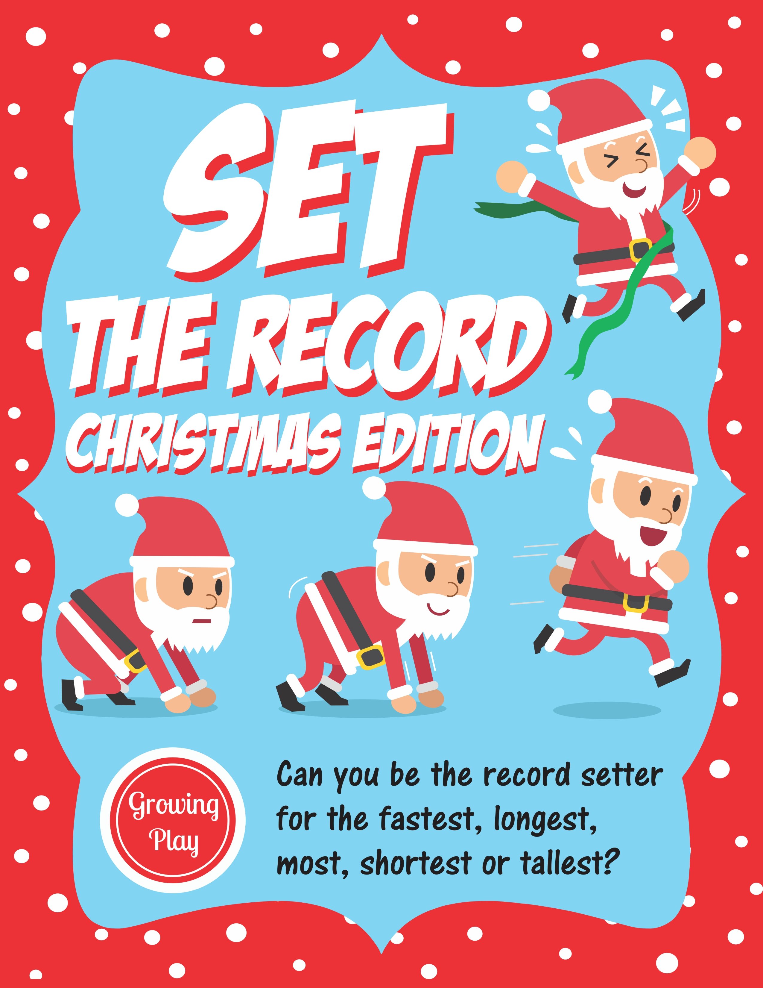 Christmas Set the Record - Your Therapy Source