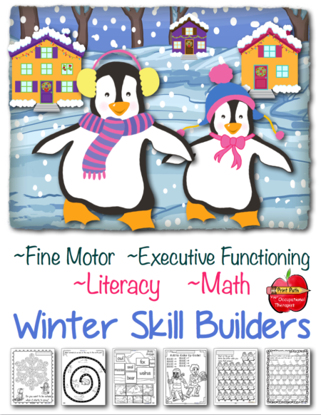 Winter Skill Builders at Your Therapy Source
