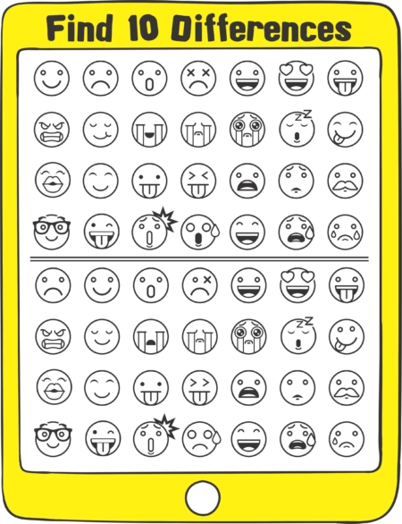 Emoji Sensory Motor Packet - free visual perceptual activity