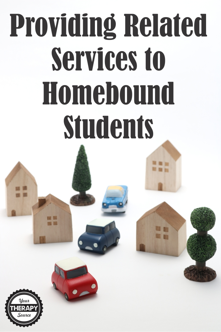 Providing Related Services to Homebound Students