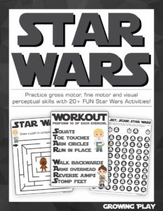 Star Wars Sensory Motor Packet