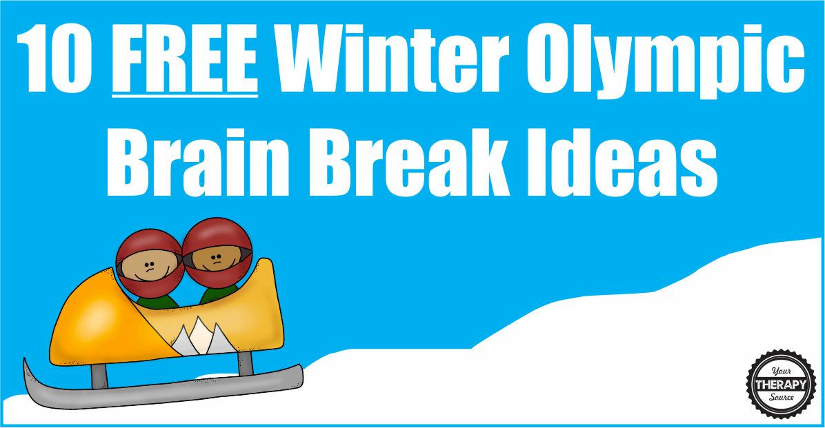 10 Free Winter Olympic Brain Break Ideas