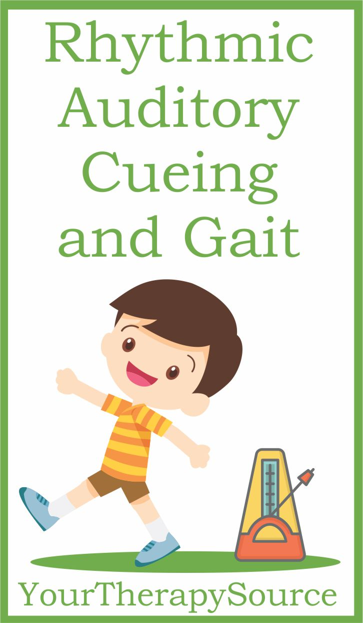 Rhythmic Auditory Cueing and Gait