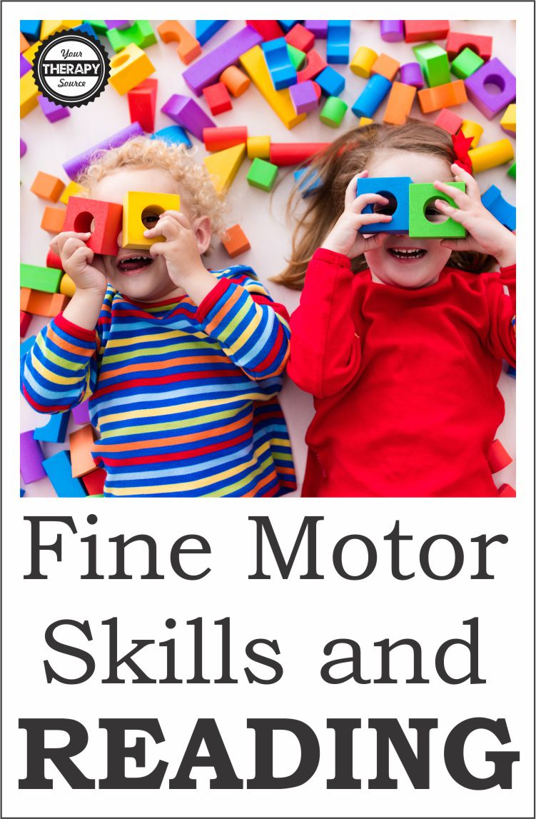Fine Motor Skills and Reading