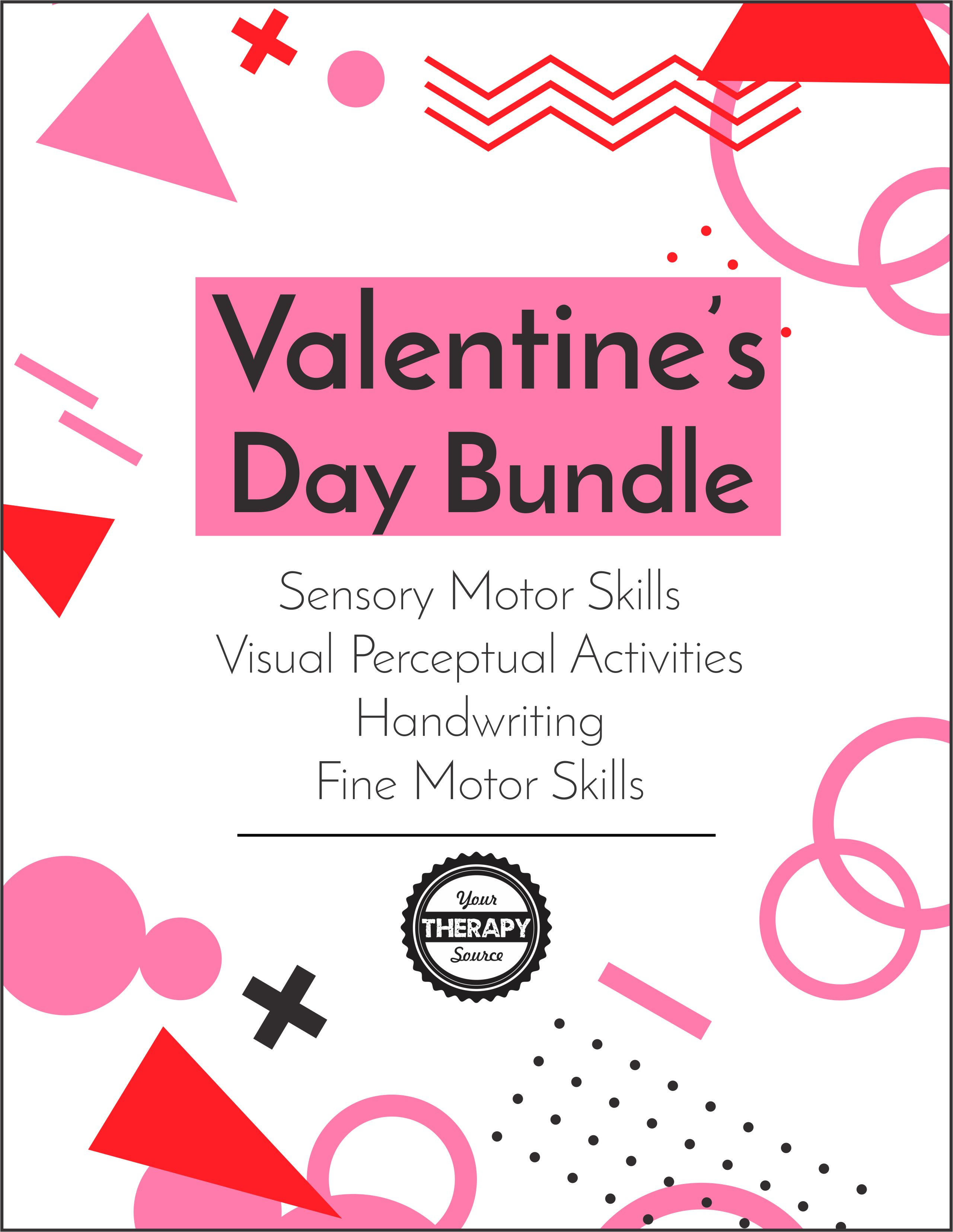 Valentine S Day Bundle Your Therapy Source