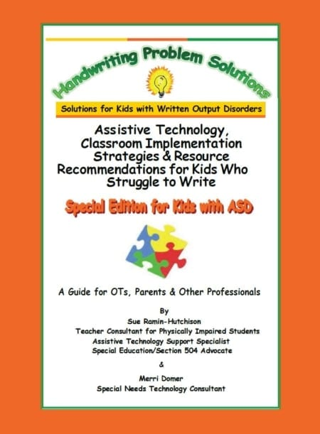 Special Edition for Kids with ASD – Assistive Technology, Classroom Implementation Strategies & Resource Recommendations for Kids Who Struggle to Write