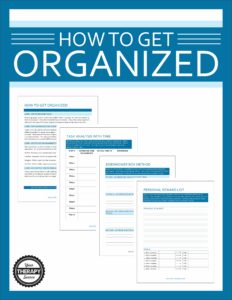 organization skills or organizational skills