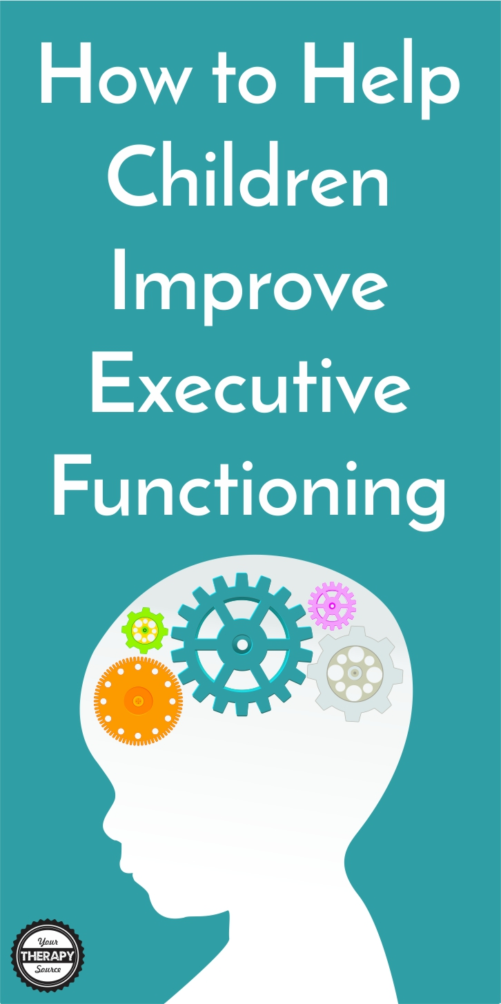How to Help Children Improve Executive Functioning