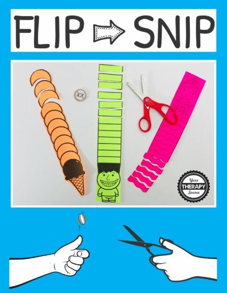 Flip and Snip Scissor Game