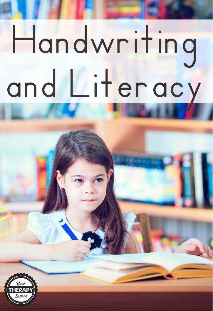 Handwriting and Literacy