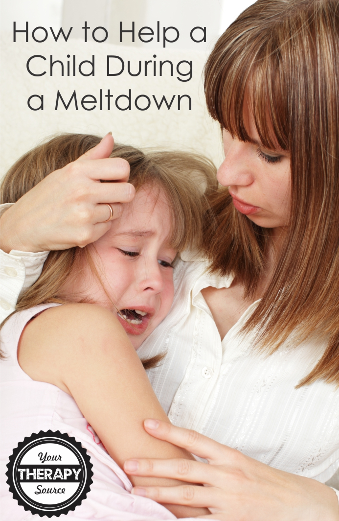 How to Help a Child During a Meltdown