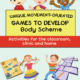 Unique Movement Oriented Games to Develop Body Scheme - Activities for the Classroom, Clinic, and Home