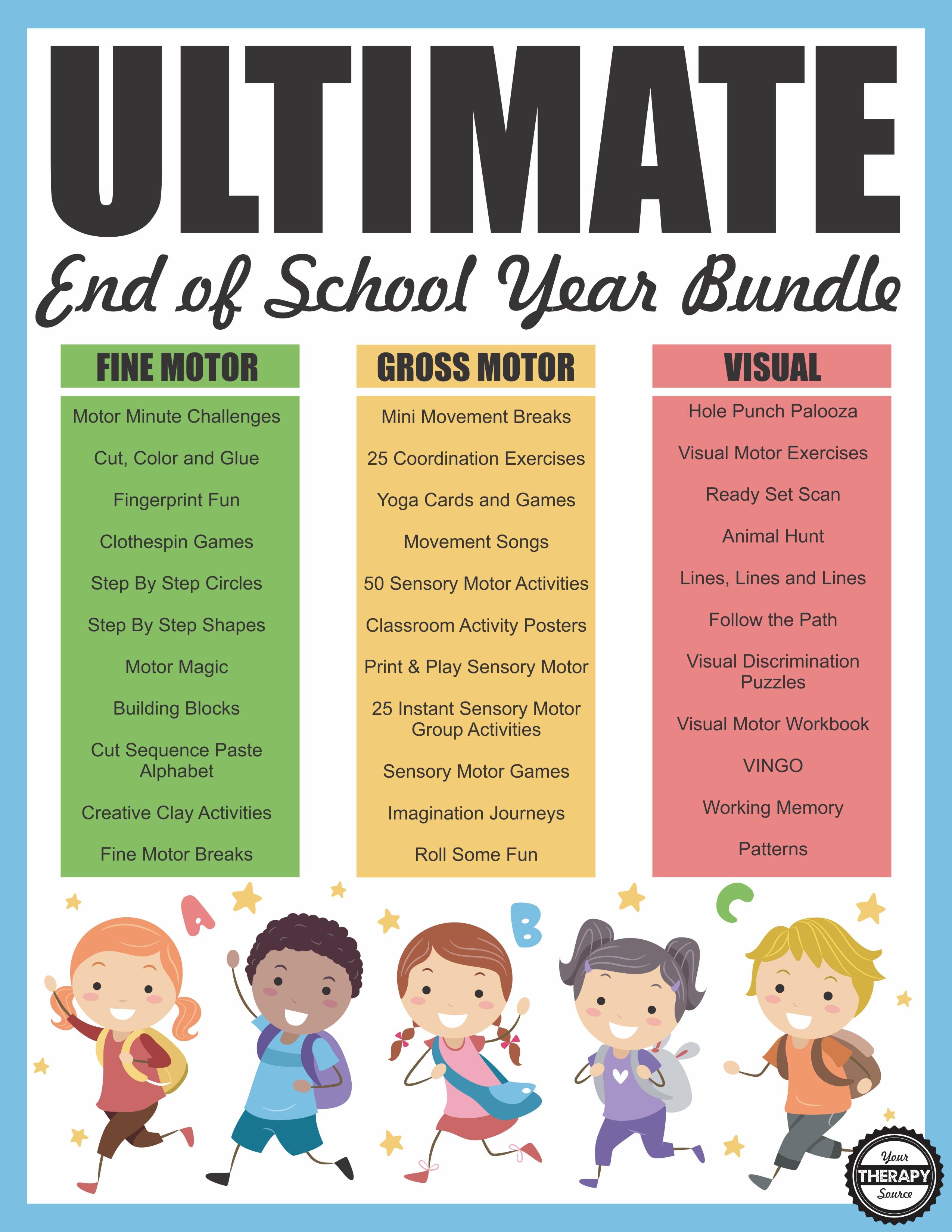 ULTIMATE End of School Year Bundle