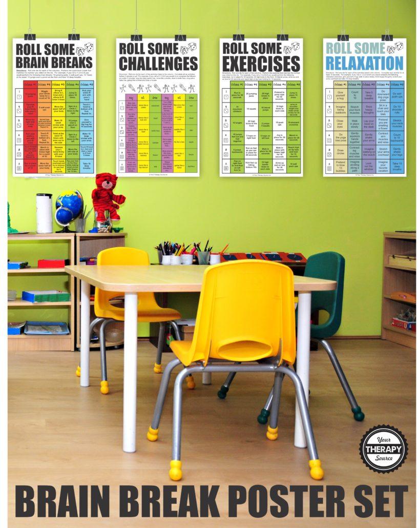 Brain Break Poster Set
