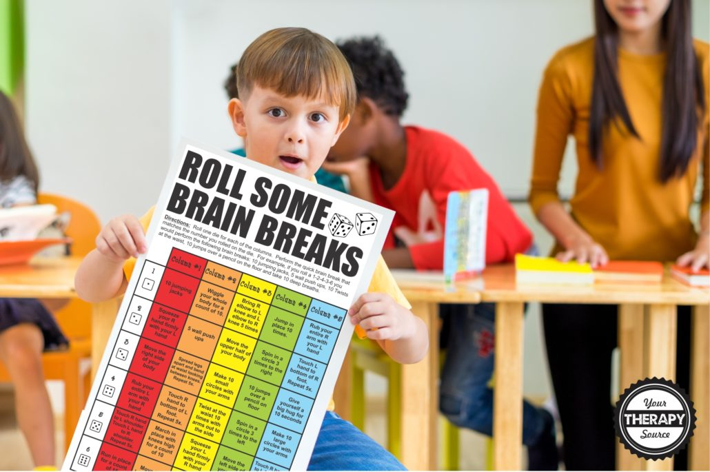 Brain Break Poster Set