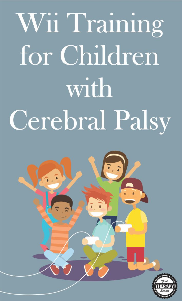 The Wii consists of fun activities that provide immediate feedback and progress the user to more advanced levels.  Using Wii training for children with cerebral palsy may increase motivational level, engagement and practice time.