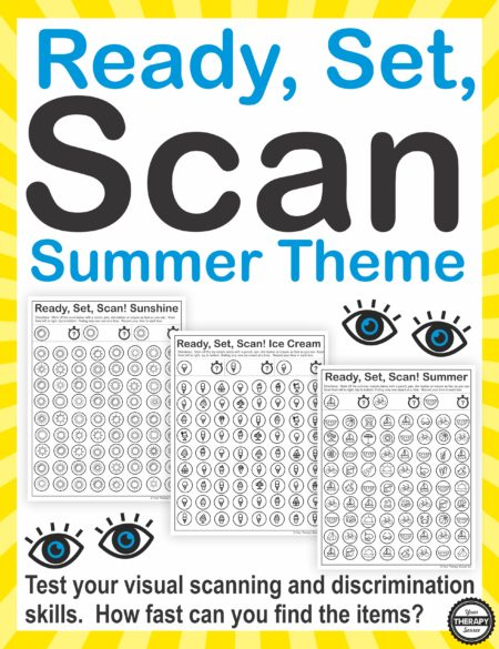 Ready Set Scan Summer theme
