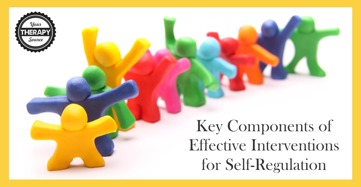 Key Components of Effective Interventions for Self-Regulation
