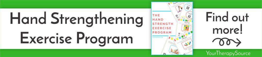 The Hand Strengthening Exercise Program