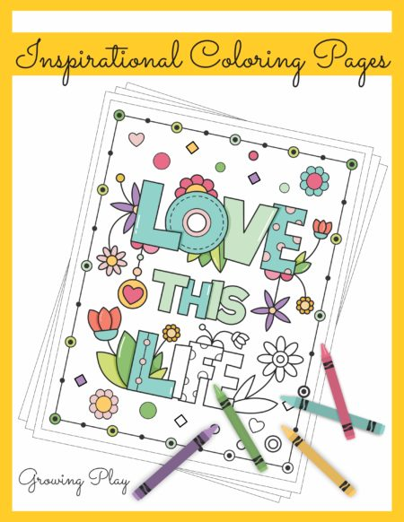 This Inspirational Coloring Book digital download includes 25 simple coloring pages with inspirational messages.    These coloring pages are simple in design, motivational and beautiful!