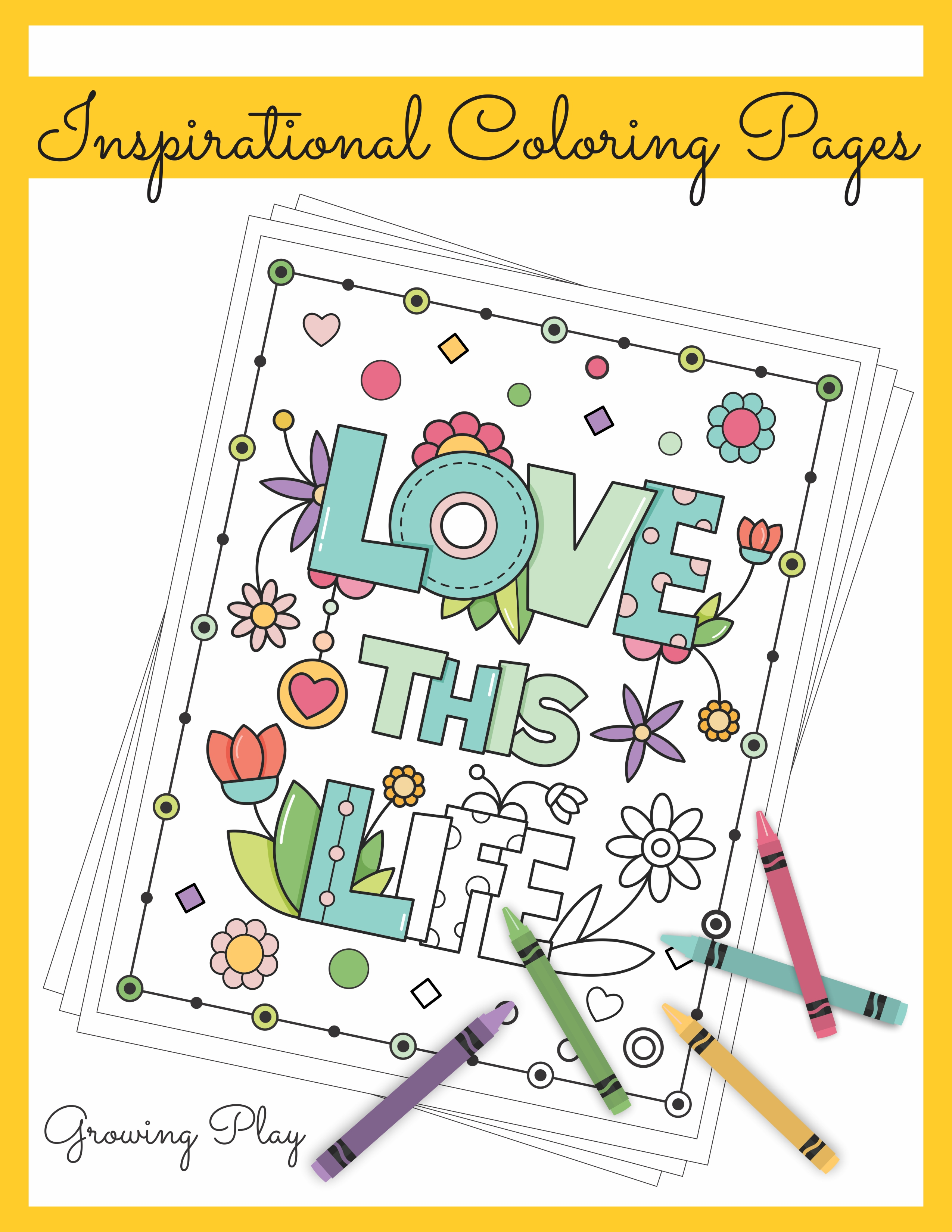 - Inspirational Coloring Book - Your Therapy Source