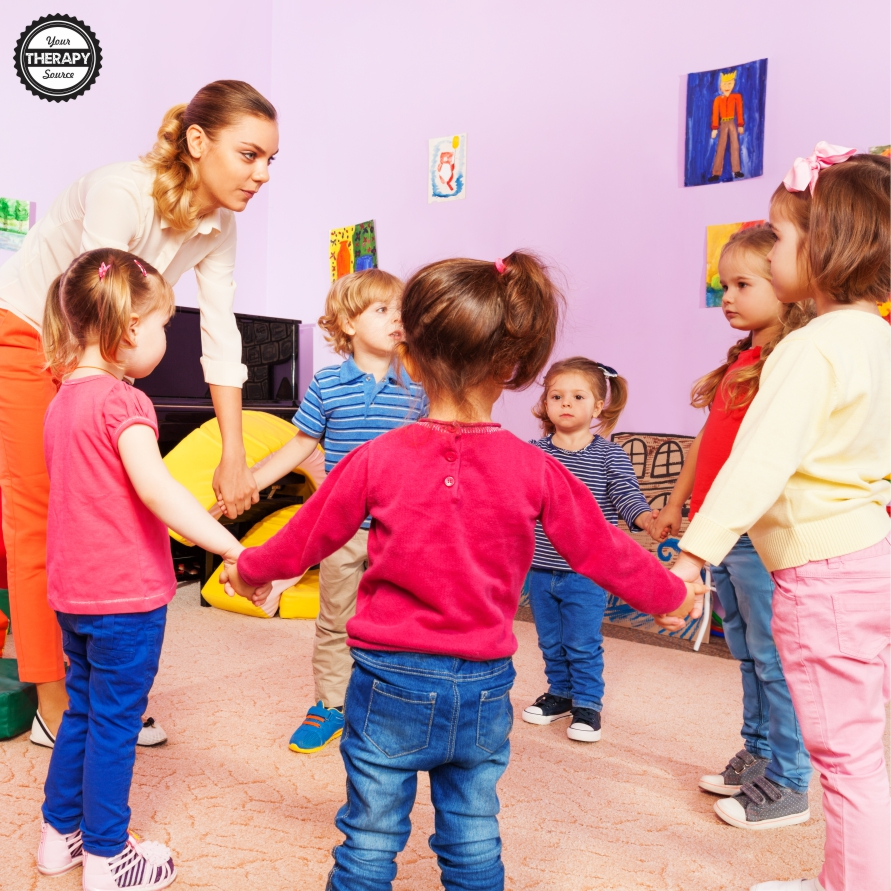 Embedding motor skill activities into the preschool classroom is so important to help children develop postural control, locomotor skills, and coordination skills.  Here are 5 strategies to support gross motor skills in the classroom.