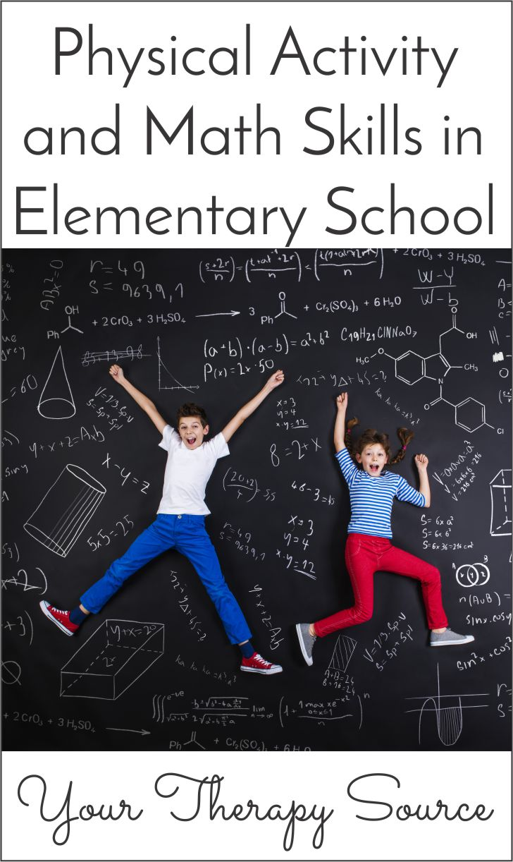 Physical Activity and Math Skills in Elementary School