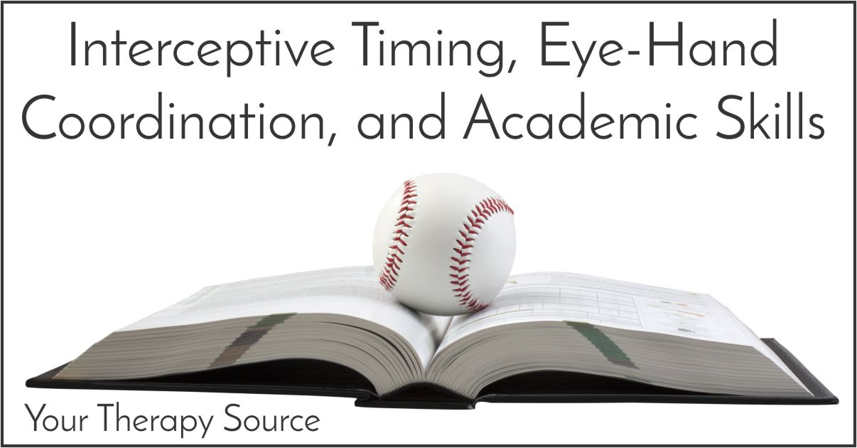 Interceptive Timing, Eye-Hand Coordination, and Academic Skills in Children