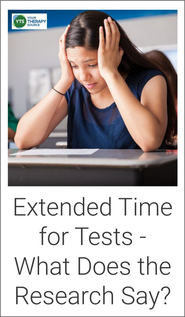 Extended time for tests what does the research say for students with ADHD
