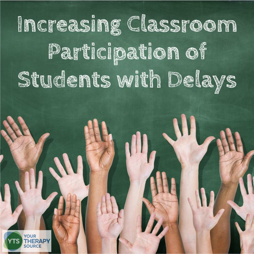 Recent research was published on increasing classroom participation of students with delays. The purpose of the study was to compare the effectiveness of combined in-services and collaborative consultations to improve classroom participation for students with intellectual and developmental disabilities.