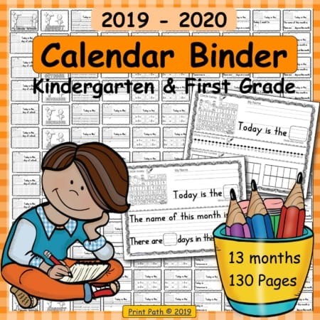 This bundle, created by school-based OT Thia Triggs, includes blank and traceable calendars plus calendar notebook templates! Differentiated Instruction!