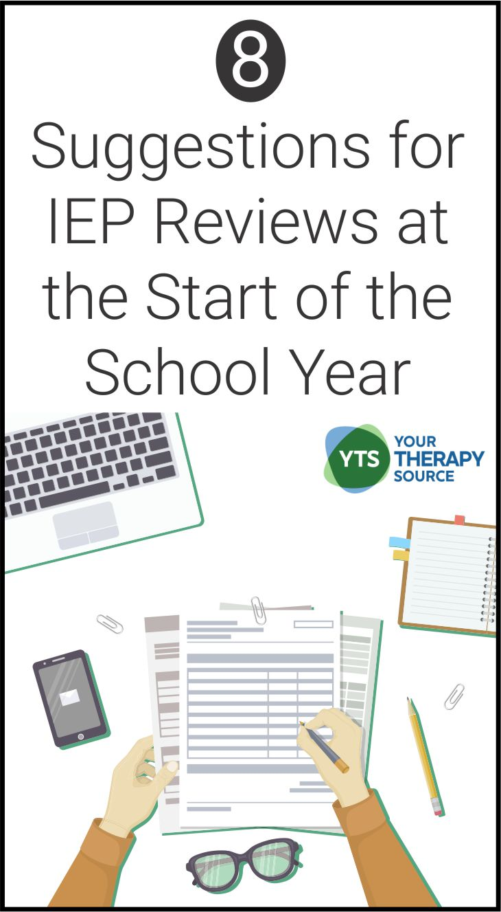 Do you do IEP reviews at the start of the school year?  As the new school year starts, it is important for related service providers, teachers, parents and students to review the IEP.  Reviewing IEP for multiple students can be very time consuming therefore in order to be productive focus on the important parts of the IEP.  Here are suggestions for IEP reviews at the start of the school year.