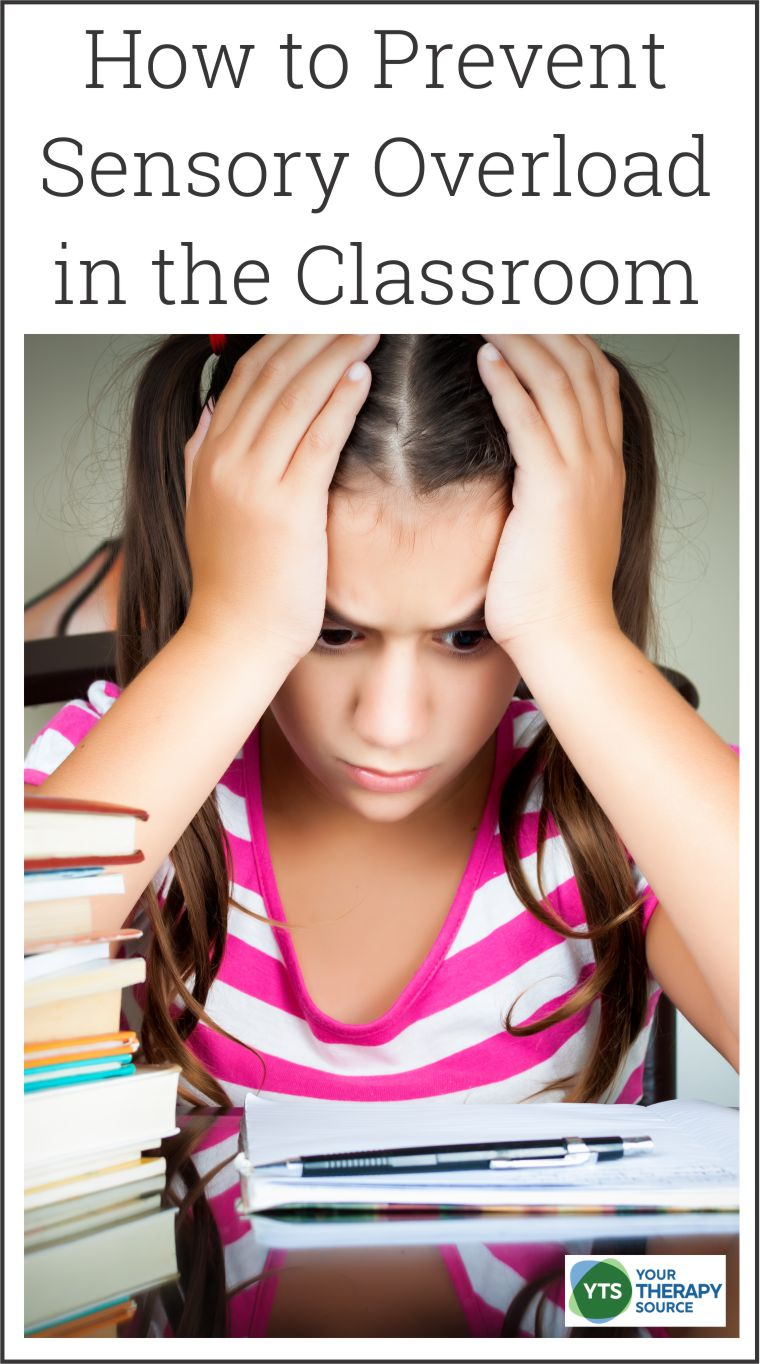 At the start of the school year or anytime after a school break, students may have a difficult time adjusting to changes at school. One of the most effective ways to prevent sensory meltdowns is to prevent them from occurring in the first place. Here are some suggestions on how to prevent sensory overload at school.