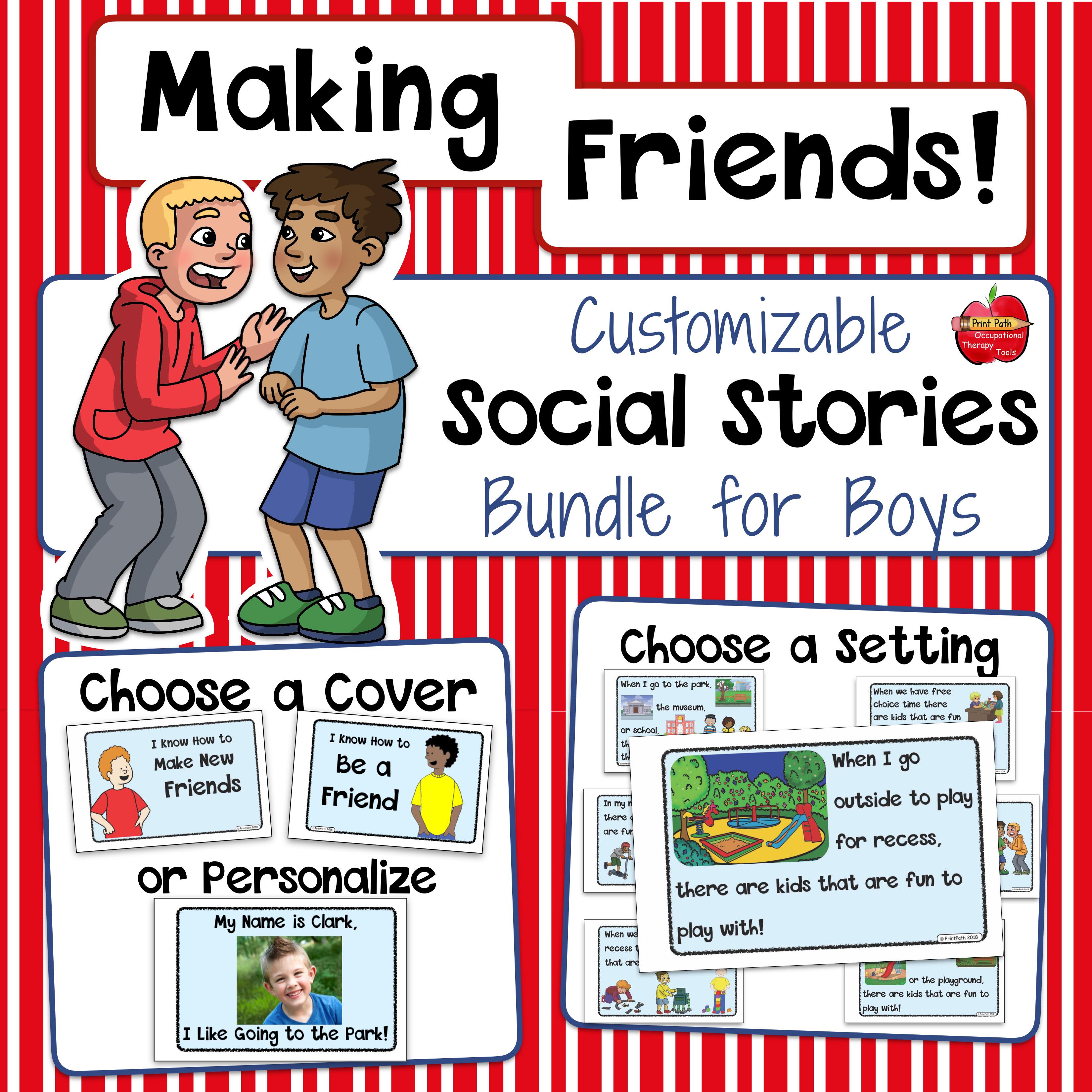 How is it - making friends