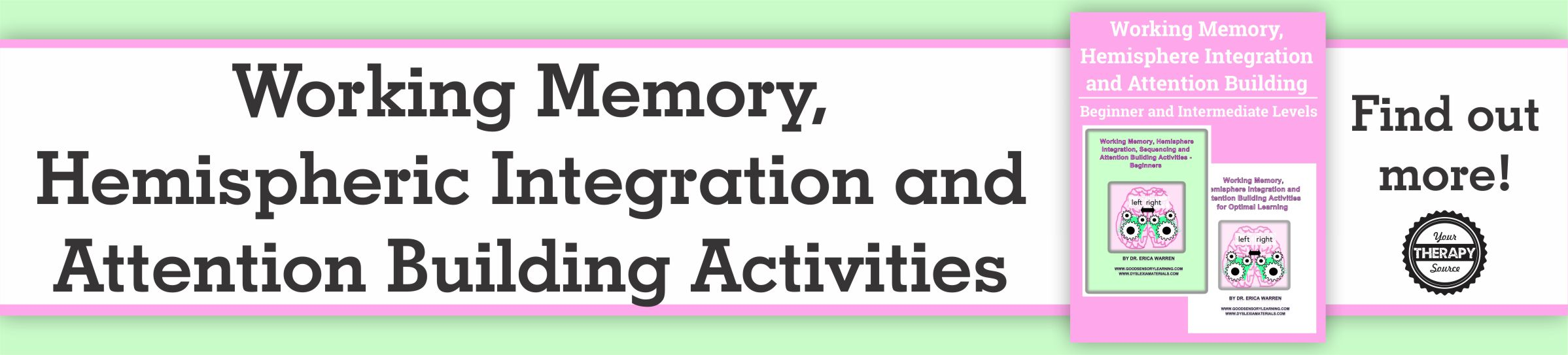 What Is Working Memory >> What Is Working Memory And Hemispheric Integration Your Therapy