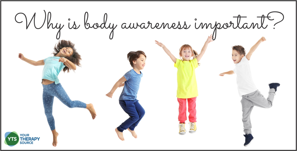 Why is body awareness important?  Read the research and get activity ideas to help children develop body awareness and spatial skills.