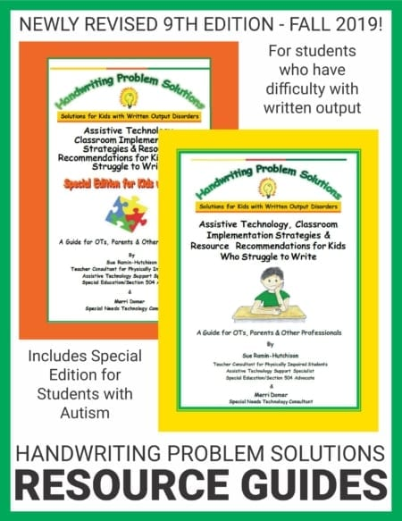 Handwriting Problem Solutions Your Therapy Source